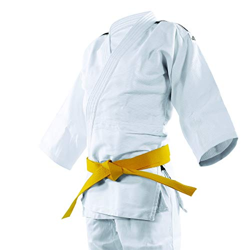 "ADIDAS Judo Uniform ""CLUB"" Sem Cinta Branco/Preto 180"