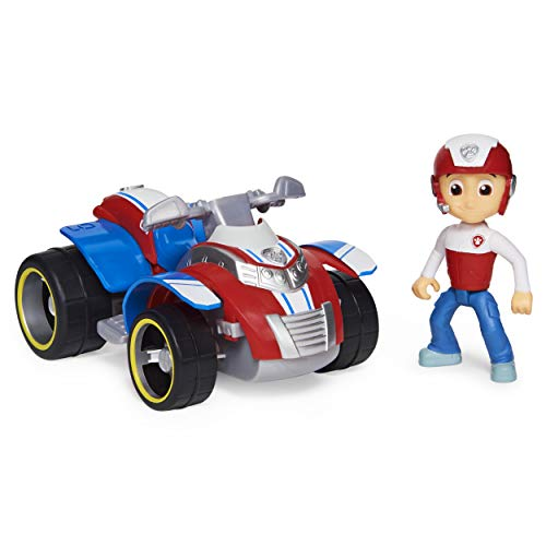 Paw Patrol, Ryder's Rescue ATV Vehicle with Collectible Figure, for Kids Aged 3 and up