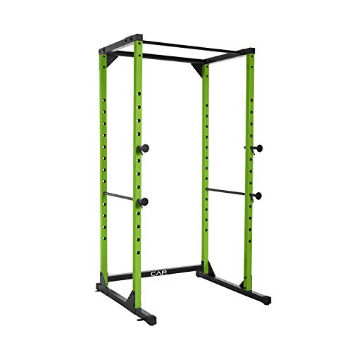 CAP Barbell Full Cage Power Rack, 6-Foot, Green