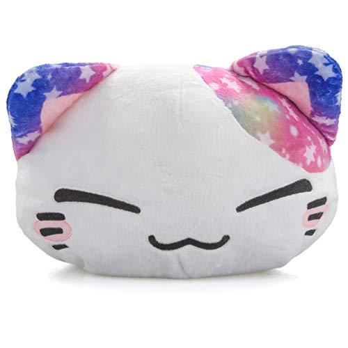 Nemu Nemo Neko Manga Anime Otaku Kawaii Stofftier Plüschtier Plush Cat Merchandise zum Kuscheln Original aus Japan Höhe 25cm und Breite 35cm