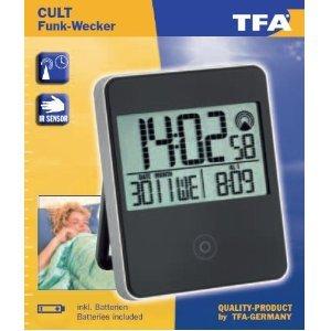 TFA Dostmann Eschenbach 60251801 Cult Kult Funkwecker