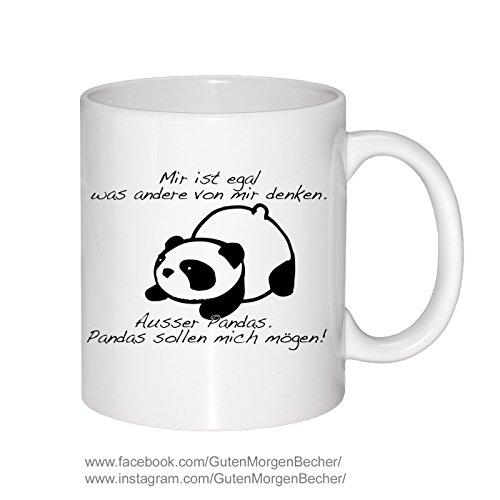 Becher Panda Spruch