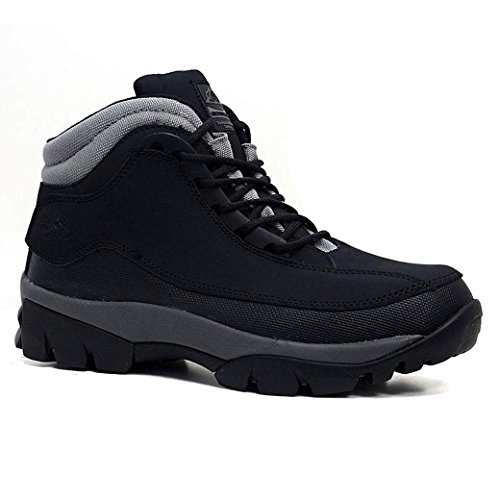 MENS GROUNDWORK LEATHER UPPERS SMART/CASUAL LACE UP STEEL TOE CAP SAFETY...