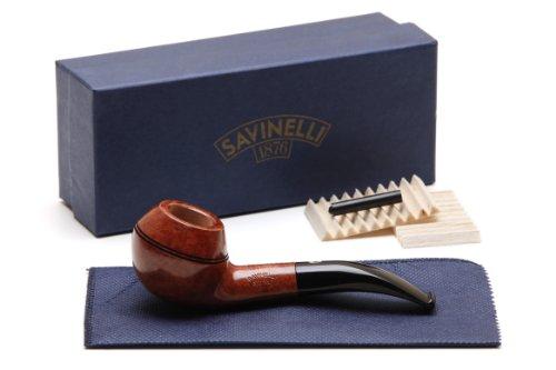 Savinelli Spring Liscia 673 KS Tobacco Pipe