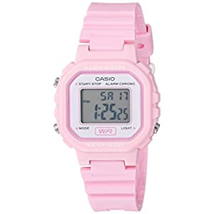 Casio watches Casio Women's Classic Quartz Watch with Resin Strap, Pink, 9 (Model: LA20WH-4A1)