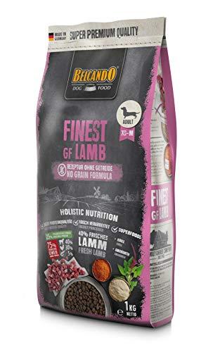 Belcando Finest GF Lamb [1 kg] getreidefreies Hundefutter | Trockenfutter für kleine & mittlere Hunde | Alleinfuttermittel für Hunde ab 1 Jahr