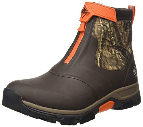 Muck Boot The Original Company, Men's Apex Mid Zip, Size 12, Brown/Mossy Oak