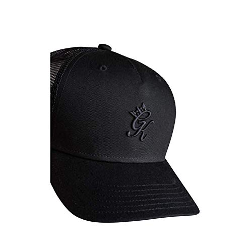 Gym King Men's Accessories Gourley Cap Fashion Casual Lifestyle Sport Logo Hat New Black