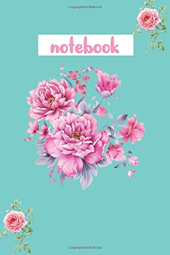 notebook: notebook:Flower Notebook, Journal, Diary, Planner (100 Lined Pages, 6 x 9)
