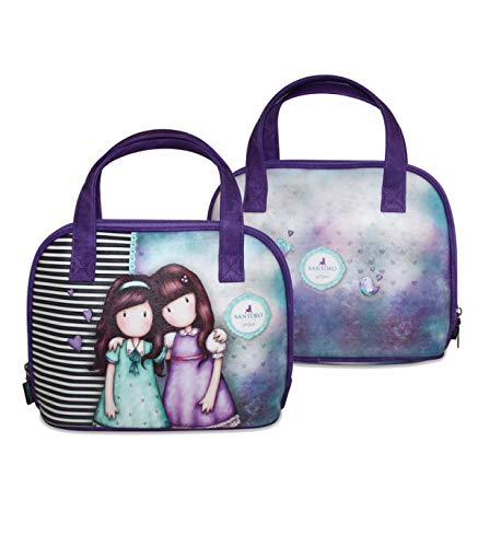 Gorjuss Santoro London Friends Walk Together Bolsa Escolar 28cm