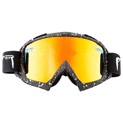 QETRYT Pit Viper Sport Gafas De Sol Polarizadas Protección Uv Gafas Para Ciclismo Hombres Mujeres Deportes Al Aire Libre Pesca Golf Gafas De Béisbol Gafas A Prueba De Viento Vs01