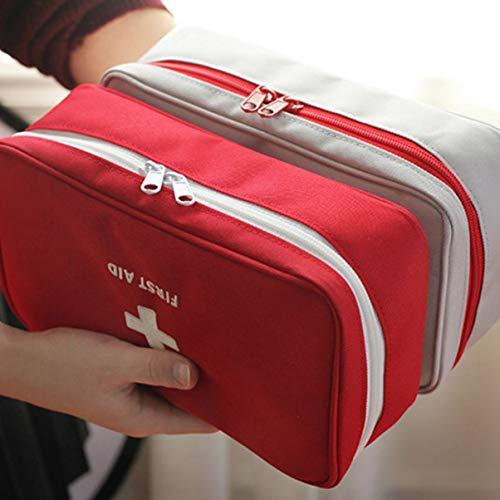 fgjhfghfjghj Tragbare Outdoor-Sporttasche Erste-Hilfe-Set Multifunktionales Aufbewahrungspaket Leere Überlebenstasche für Reisen Camping