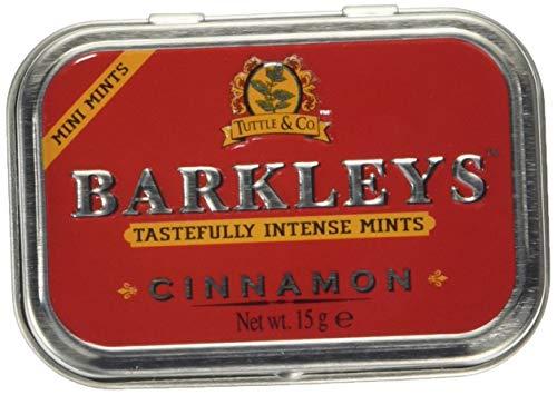 Barkleys Mints Sugar Free Cinnamon Intense Mints Tins, 15 g
