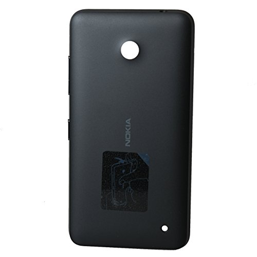 waipawama batería tapa compatible con Nokia Lumia 630 635, negro