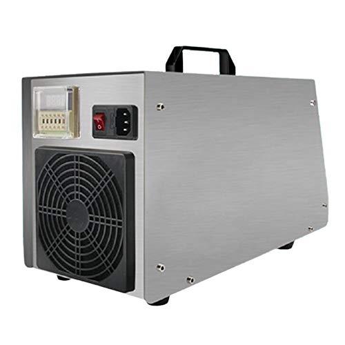 Raxinbang Purificador de Aire Inicio Generador De Ozono, Ozono O3 Móvil Máquina Comercial Aire del Esterilizador De Ozono 20g / H Generador De Cubierta, Hogar, Oficina Y Barco