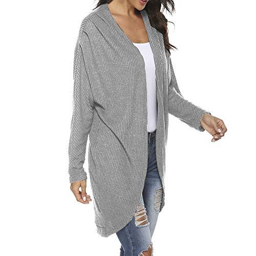 U/A Suéter de invierno Cardigan de mujer de manga larga