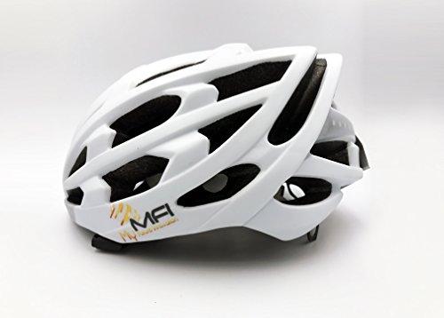 MFI Lumex PRO Future Helmet White (Bianco, Medium M)