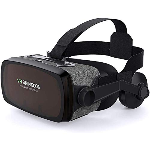 Best Bargain VR Headset Virtual Reality Glasses VR Glass for Smartphone 4.0-6.0 Inches Support Andro...