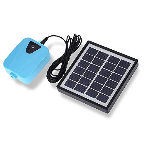 BRAVE ソーラーポンプ 充電式 エアポンプ 酸素 池 通気装置 エアストーン 水族館 エアポンプ付き 5v MV-SEISSSO