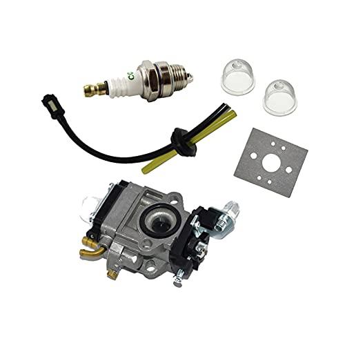 ZXC Kit de bujías de Manguera de Combustible de carburador Ajuste para 23-26cm EInHell al-KO Atika FUTTEC BRUSHCUTTER COBEZADOR
