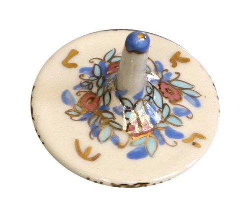 Best Review Of Hanukkah Chanukkah Dreidel Porcelain Made By MALI HIKRI Spinning Top Size: 2 x 2