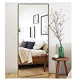 CrossROBBIN Thin Frame Floor Mirror (Walnut, 65'x22')