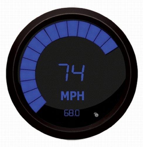 Intellitronx M9222B LED Digital Speedometer, Blue/Black