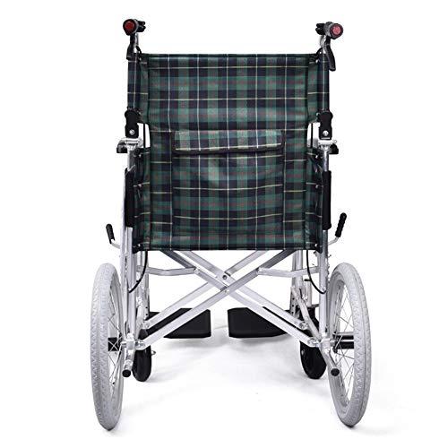 LSX--rolstoel Rolstoel Vaste banden Compact en lichtgewicht Huishoudelijke medische opvouwbare rolstoelen Oudere trolleys boek licht