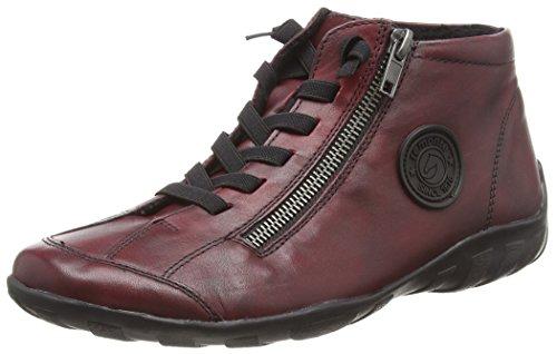 Remonte Damen R3491 Hohe Sneaker, Rot (Vino 35), 43 EU