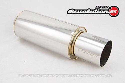 GReddy 11001125 Revolution Universal Muffler, 2.5'