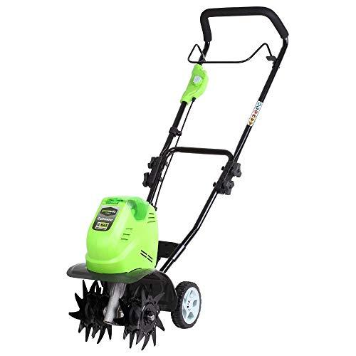 Greenworks Tools GWT40VS2-TILLER-TO 27087, 43.2 W, 40 V, Verde