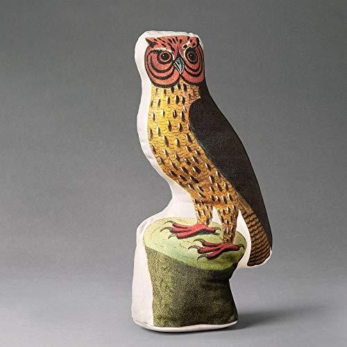 Hocus Barn Owl Shaped Decorative Throw Pillow John Derian for Threshold