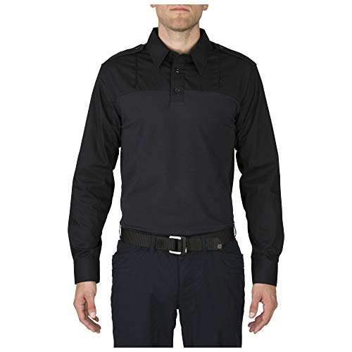 5.11 T-Shirt à Manches Longues Taclite Rapid PDU pour Homme Bleu Nuit Taille XL