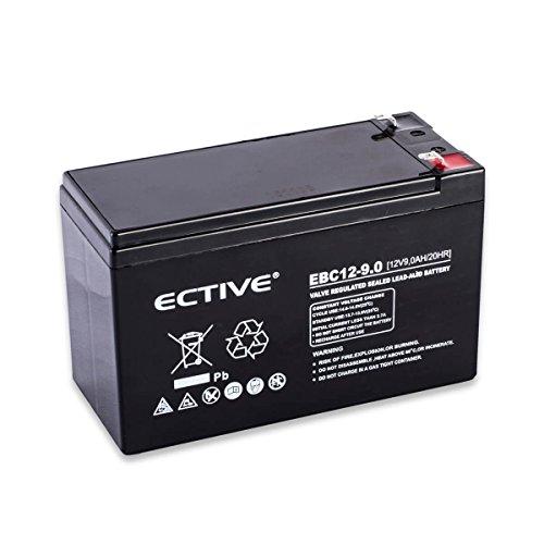 Accurat 12V 9Ah Blei-Akku AGM Blei-Batterie Zyklenfest Supply-Serie VRLA Versorgungsbatterie (wartungsfrei)
