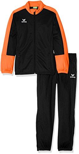 Erima Kinder Toronto 2.0 Polyesteranzug, schwarz/Orange, 140