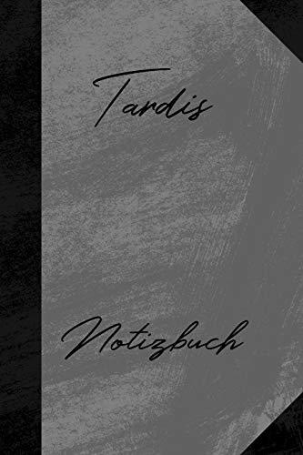 Tardis Notizbuch: Unliniertes Notizbuch mit Rahmen für deinen Vornamen