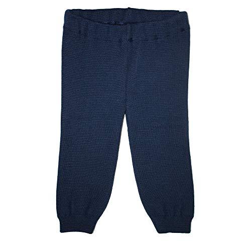 iobio 100% Wolle Gestrickt Leggings (Dunkelblau, 98/104)