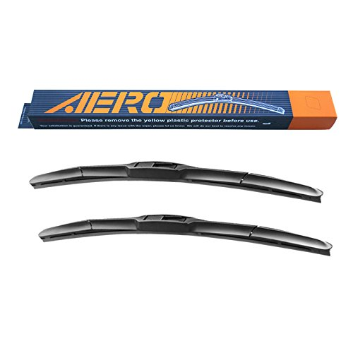 "OEM QUALITY 26"" + 16"" AERO Premium All-Season Frameless Windshield Wiper Blades (Set of 2)"