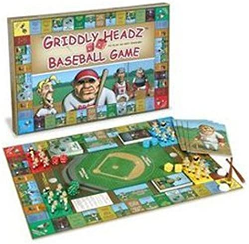 Griddly Headz Baseball Game Deluxe Edition by Griddly Games Incorporated