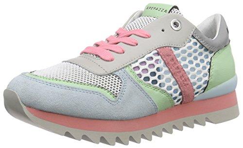 Apepazza Damen Dafne MULTINET Sneaker, Mehrfarbig (Multi/PASTELLO), 36