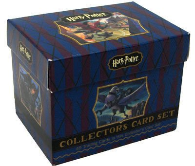 Harry Potter Literary Collectors Card Set [Complete Set Of 45 Cards]