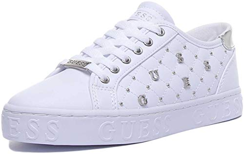Sneakers Donna GUESS gladiss fl5glaele12 39 bianco
