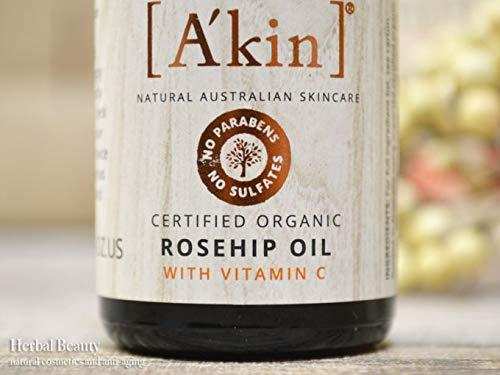 [A'kin]エイキンローズヒップオイルwithビタミンC(ROSEHIPOILWITHVITAMINC)20ml[海外直送品]