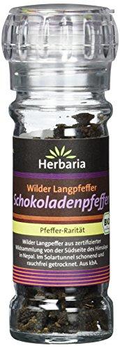 Herbaria Schokoladenpfeffer (Wilder Langpfeffer) Mühle BIO, 40 g