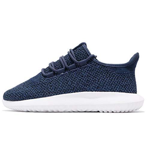 adidas Damen Tubular Shadow W Gymnastikschuhe, Blau (Noble Indigo S18/noble Indigo S18/ftwr White), 37 1/3 EU
