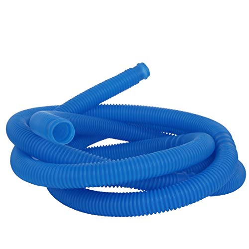 Blueborn Poolschlauch PH Ø 32 mm x 5m Schwimmbadschlauch flexibler Saugschlauch teilbar alle 100cm