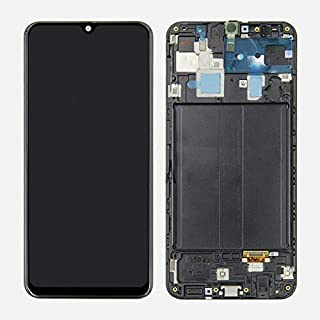 TheCoolCube LCD Display Touch Screen Digitizer Assembly Compatible with Samsung Galaxy A30s 2019 SM-A307 A307F/DS/U 6.4 inch (Black with Frame)