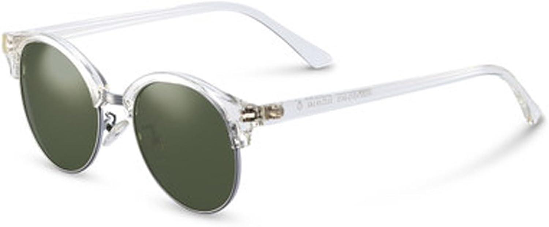 colorful Polarized Sunglasses Semicircle Fashion Hipster Sunglasses Women's Round Sunglasses