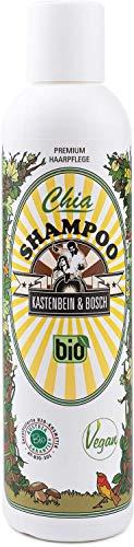 KASTENBEIN & BOSCH: Chia Shampoo - Vegane Haarpflege in Naturkosmetik-Qualität für normales und dünnes Haar (200ml)