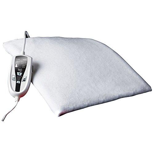 Daga N4 Textil Class - Almohadilla Térmica, 120W, 4 Temperaturas, Autoestop 8h, 3 Tiempos Programables, Autotest, Calentamiento Rapido, 100% Algodon, color Blanco, 70x46